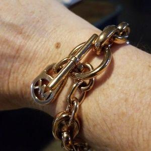 Michael Kors Jewelry - Michael Kors rose gold bracelet.